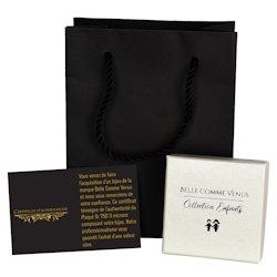 Pochette cadeau écrin et certificat Belle Comme Venus collection enfants