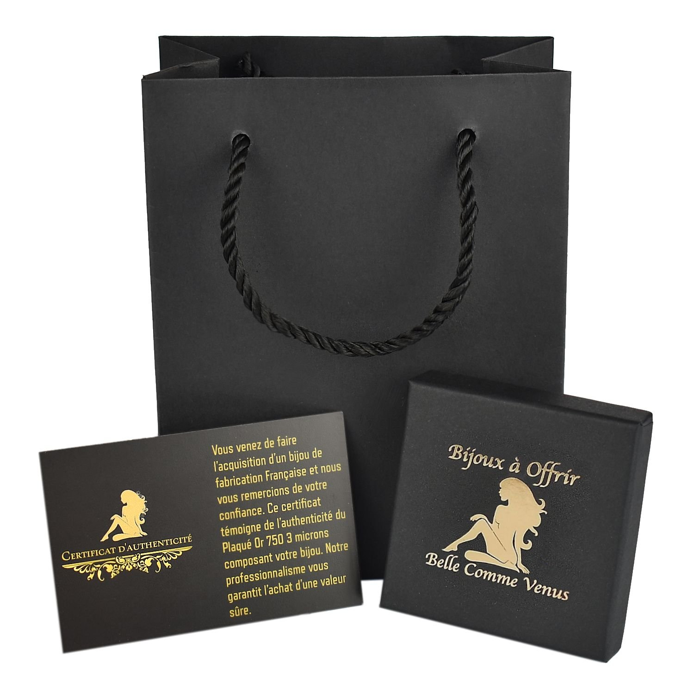 Pochette cadeau écrin et certificat Belle Comme Venus